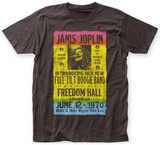 Janis Joplin- Freedom Hall Poster Tshirts