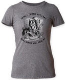 Women's: Alice In Wonderland- Mad Hatter Twinkle Twinkle Camisetas