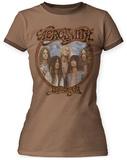 Juniors: Aerosmith- Dream On Ringer T-Shirts