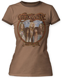 Juniors: Aerosmith- Dream On Ringer T-Shirt