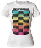 Juniors: Velvet Underground- Meters T-Shirts