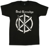Dead Kennedys- Distressed Gothic Logo Shirt