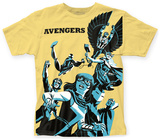 Marvel: Michael Cho- The Avengers Big Print T-shirts