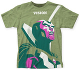 Marvel: Michael Cho- The Vision Big Print Shirts