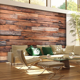Reclaimed Wood Wall Mural Wallpaper Mural
