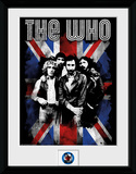 The Who- Distressed Union Jack Reproduction Collector