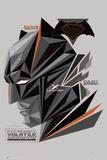 Batman Vs. Superman- Fractal Bat Head Plakater