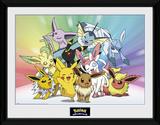 Pokemon- Eevee Evolutions Collector Print