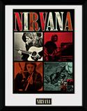 Nirvana- Jam Squares Wydruk kolekcjonerski