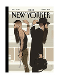 The New Yorker Cover - April 11, 2016 Regular Giclee Print by Tomer Hanuka