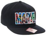 Marvel- Character Logo Snapback Hat