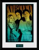 Nirvana- Band Gradient Samletrykk