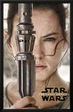 Star Wars Force Awakens- Rey Portrait Prints
