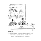 """""""I'm definitely hoping a Ryan or a Romney gets in at the convention—someon..."""" - Cartoon Premium Giclee Print by David Sipress"""