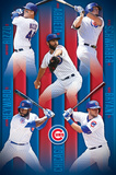 Chicago Cubs- 2016 Lineup Prints