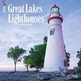 Great Lakes Lighthouses, - 2017 Calendar Kalendarze