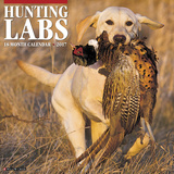 Hunting Labs - 2017 Calendar Calendriers