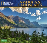 National Geographic American Landscapes - 2017 Calendar Calendriers