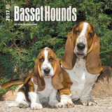 Basset Hounds - 2017 Mini Calendar Calendars