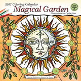 Magical Garden Coloring - 2017 Calendar Kalendarze