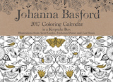 Johanna Basford 2017 Coloring Day-to-Day Calendar - 2017 Boxed Calendar Calendars