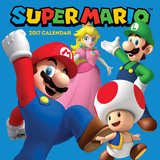 The Official Super Mario Brothers - 2017 Calendar Calendars