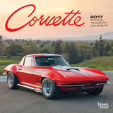 Corvette - 2017 Mini Calendar Calendars