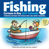 Fishing Cartoon-a-Day - 2017 Boxed Calendar Calendari