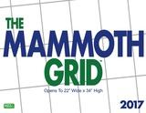 Mammoth Grid - 2017 Calendar Calendars