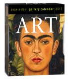 Art Page-A-Day Gallery - 2017 Boxed Calendar Calendars