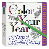Color Your Year Page-A-Day - 2017 Boxed Calendar Calendars