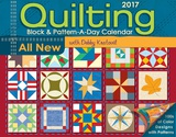 Quilting Block & Pattern-a-Day 2017 Calendar - 2017 Boxed Calendar Calendars