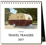 Travel Trailers - 2017 Easel Calendar Calendars