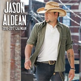 Jason Aldean - 2017 Calendar Calendars