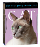 Cat Page-A-Day Gallery - 2017 Boxed Calendar Calendários