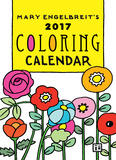 Mary Engelbreit's Coloring - 2017 Weekly Planner Kalendarze