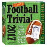 365 Days Of Football Trivia! Page-A-Day - 2017 Boxed Calendar Kalendere
