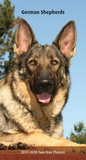 German Shepherds Two-Year - 2017 Planner Calendars