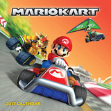 The Official Mario Kart - 2017 Calendar Calendars