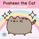 Pusheen the Cat - 2017 Calendar カレンダー
