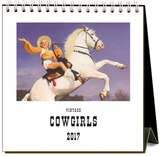 Cowgirls - 2017 Easel Calendar Calendars