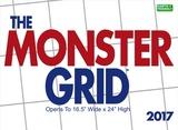 Monster Grid - 2017 Calendar Calendriers