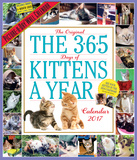 The 365 Kittens-A-Year Picture-A-Day - 2017 Calendar Calendars