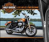 Harley-Davidson - 2017 Boxed Calendar Calendarios