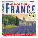 A Year In France Color Page-A-Day - 2017 Boxed Calendar Calendars