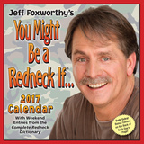 Jeff Foxworthy's You Might Be A Redneck If... - 2017 Boxed Calendar Kalendrar
