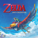 The Official Legend of Zelda - 2017 Calendar Calendars