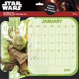 Star Wars Saga - 2017 Desk Pad Calendar Calendarios