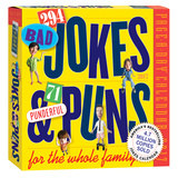 294 Bad Jokes + 74 Punderful Puns Page-A-Day - 2017 Boxed Calendar Calendars