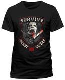 Walking Dead- Survive Protect Defend Vêtements